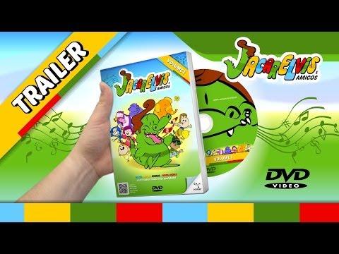Trailer do DVD Infantil do Jacarelvis e Amigos
