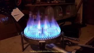 210,000 BTU Propane Gas Burner