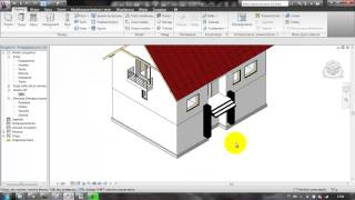Revit Architecture - Lekcja 13 - Fundamenty
