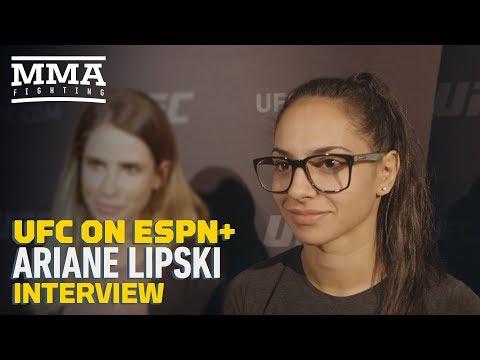 UFC Brooklyn: Ariane Lipski Explains How She Got 'Violence Queen' Nickname - MMA Fighting