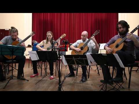 Perth Guitar Quartet: The Opals Suite, mvt 3: White Opal