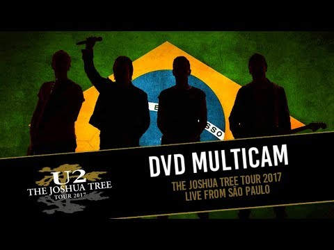 DVD U2 THE JOSHUA TREE TOUR 2017 - LIVE FROM BRAZIL: THE LOUDEST CROWD ON EARTH!
