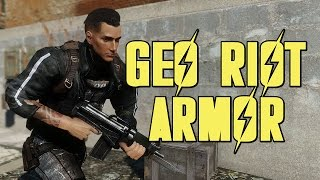 Fallout 4 Mods - Geo Riot Armor thumbnail