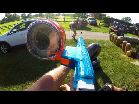 Behind the Scenes: NERF Gun Game 8.0, Battle Bunkerz, and Hunger Games!