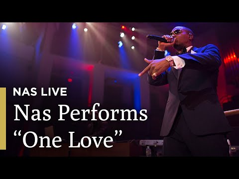 """Nas Performs """"One Love"""" With The National Symphony Orchestra"""