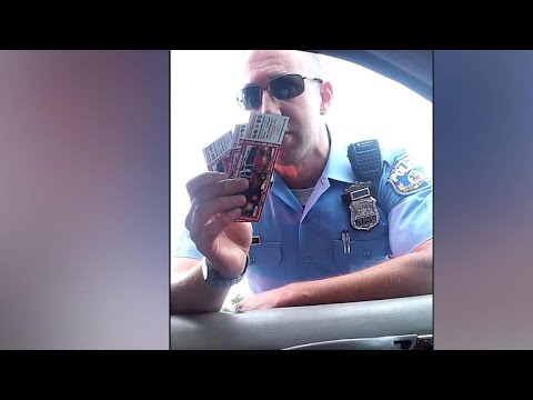 Philly officer shown pressuring driver at traffic stop to su
