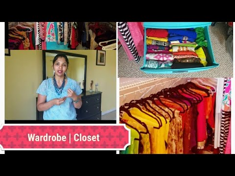 TAMIL closet  organization | wardrobe organization  | Tips and ideas  | Closet Tour