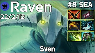 Raven [LOTAC] plays Sven!!! Dota 2 7.21