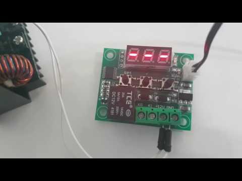 TOOGOO Regolatore di Temperatura Con Termostato Digitale Da 12 V Led Termostato W2809