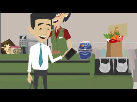 Erklärvideo zum mobilen Bezahlen -  Wie funktioniert Near Field Communication?