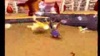 Spyro 2 [Orbs] Skelos Badlands [Lava lizards II]