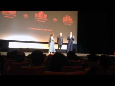 Intro to restored TEXAS CHAINSAW MASSACRE at Directors Fortnight in Cannes