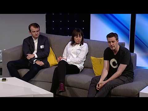 A Panel of People Geeks at the BT Sport London Geekup