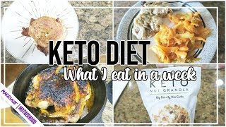 🚀KETO DIET What I eat in a Week to lose WEIGHT!
