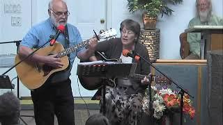Peggy, Joe, Lee, Arlene, guitar songs at Bible Explorations