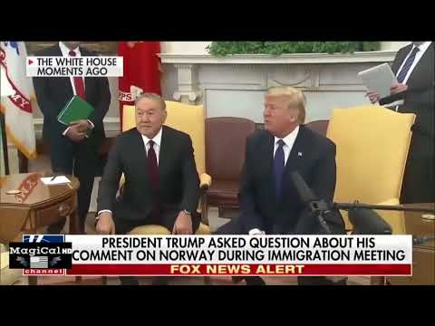 MUST SEE! PRESIDENT TRUMP ORDERS REPORTER TO LEAVE THE WHITE HOUSE