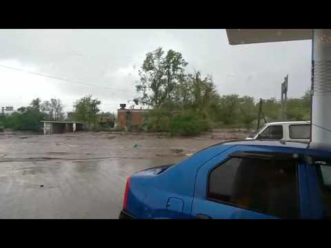 Bulboaca inundată ca in filme