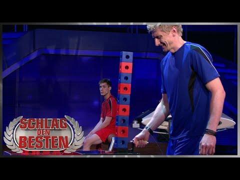 Balanceakt für Baumeister Björn | Robin vs. Björn | Spiel 9 | Schlag den Besten