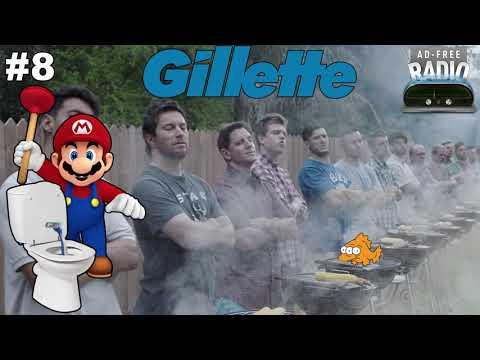Ad-Free Radio #8 - Gillette: Real Men Eat Python Meat