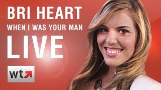 """Bri Heart Performs """"When I Was Your Man"""" & Answers Fan Questions LIVE on What's Trending"""