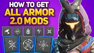 How to Collect and Track All Armor 2.0 Mods! - SUPREME MODS, FARM ENHANCED MODS & ARMAMENTS!