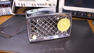 ZAP! Electrifying Silvertone Radio and Safety Tips!
