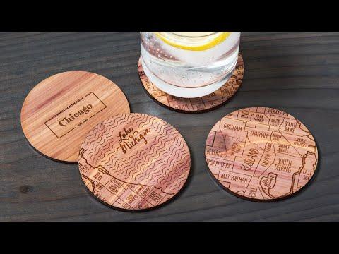 Neighborwoods - Handcrafted Cedar Maps