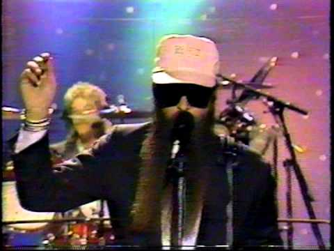 ZZ Top Tonight Show  5 16 86