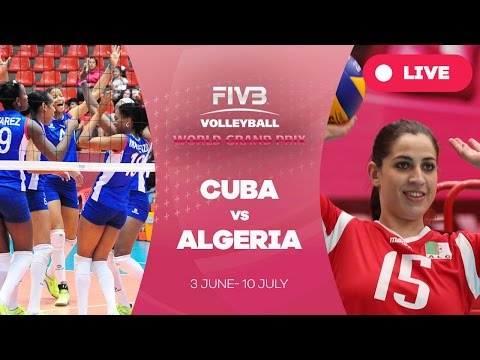Cuba v Algeria - Group 3: 2016 FIVB Volleyball World Grand Prix