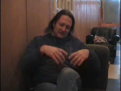 Interview with Daniel Zimmerman (Gamma Ray)- part 1.avi