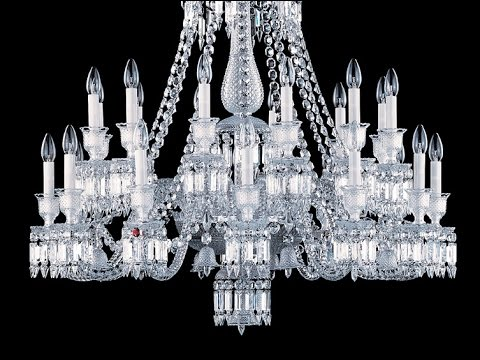 How A Baccarat Chandelier Is Made Brandmadetv