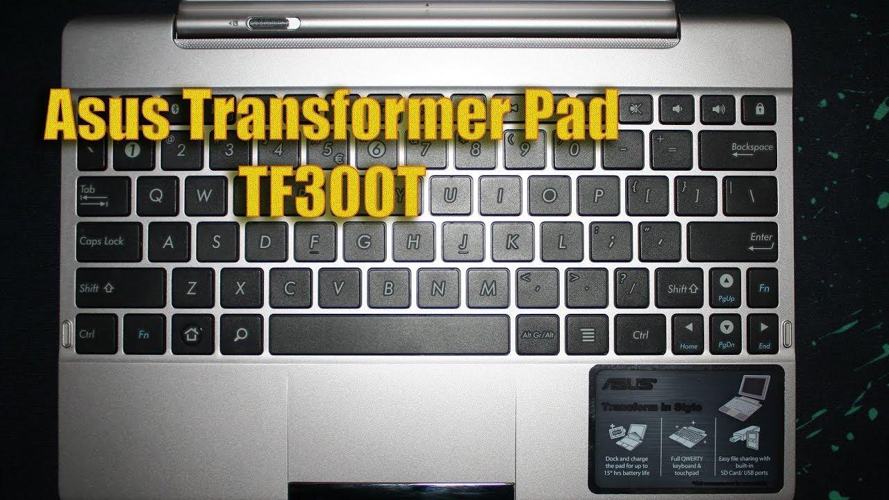 Asus Transformer Pad TF300T Keyboard Docking Station
