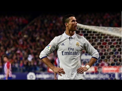 Cristiano Ronaldo Hat-Trick Against Atletico Madrid 11/19/2016