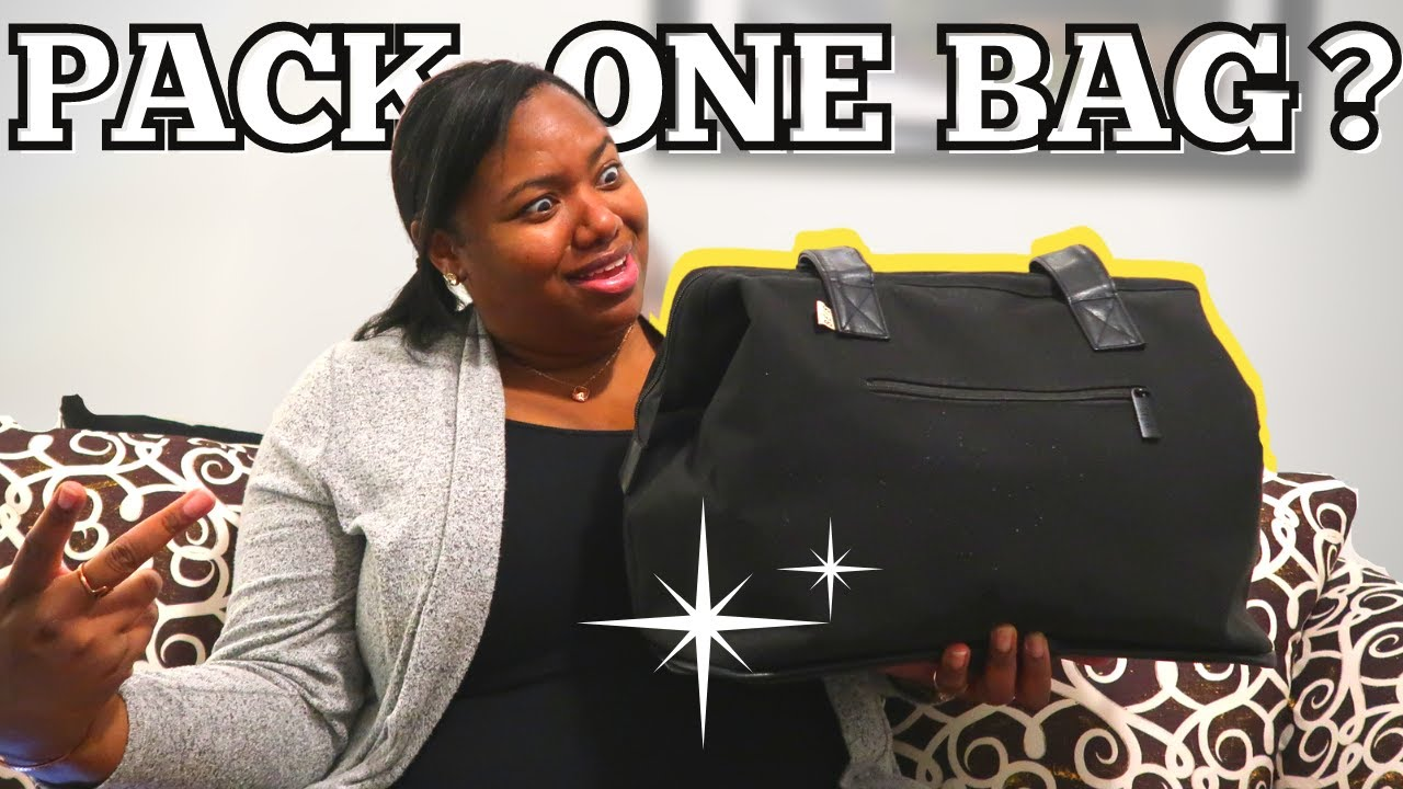 TRAVEL WITHOUT CHECKED LUGGAGE | Instead Pack Basic Economy Personal Item and Carry-On Bags