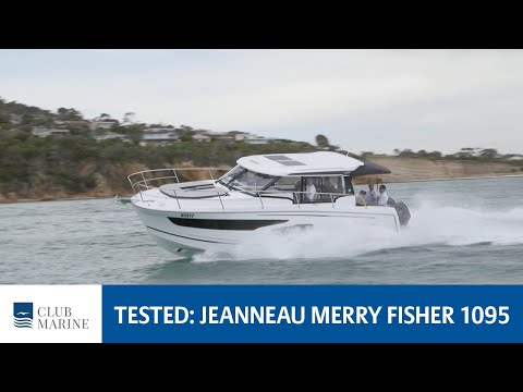 Jeanneau Merry Fisher 1095  Boat Review | Club Marine TV