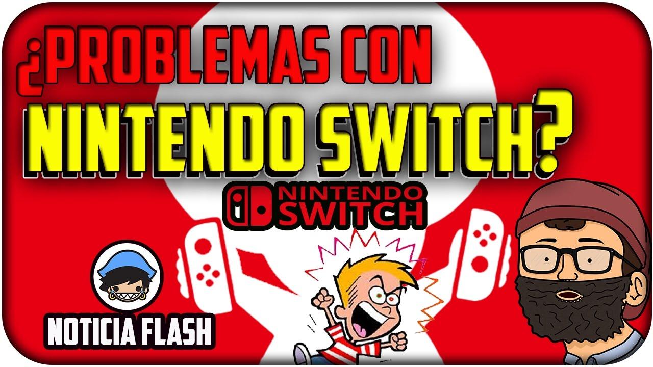 ¿PROBLEMAS CON NINTENDO SWITCH? Noticia - Programa #06 - Español