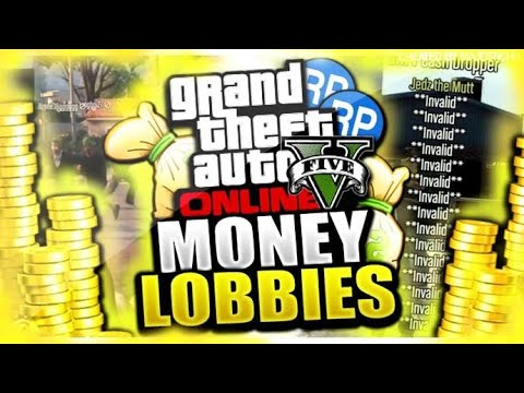 GTA5 PC ONLY GTA 5 MONEY DROP MODDED LOBBY    CHECK DESC TO JOIN PRIVATE (PC MOD MENU)