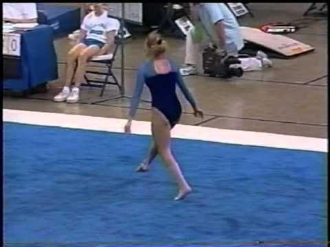 Hilary Thompson  2002 Super Six Challenge Floor Exercise