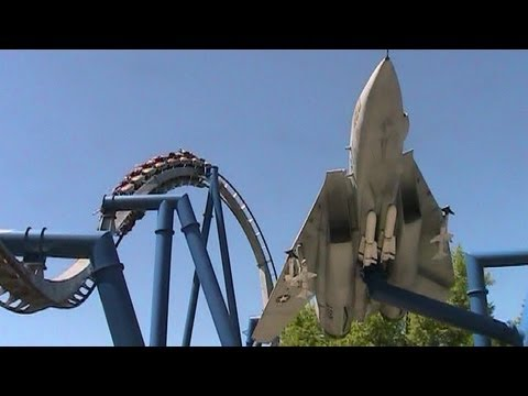 Afterburn off-ride HD Carowinds