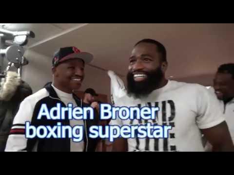 Adrien Broner Night Before Weigh In EsNews Boxing