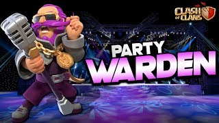 PARTY WARDEN SKIN EASTER EGG!?  TH12 Push to Max | Clash of Clans