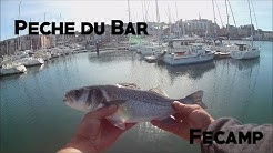Pêche du bar à Fécamp