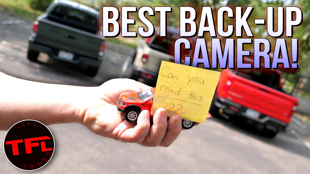 Chevy vs Toyota vs Jeep: Which of These Brand New Trucks Has the Best (And Worst) Backup Camera?