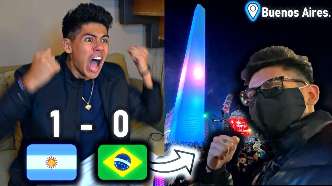 ¡REACCIONANDO a la FINAL en ARGENTINA! *COPA AMÉRICA* - [ANTRAX] ☣
