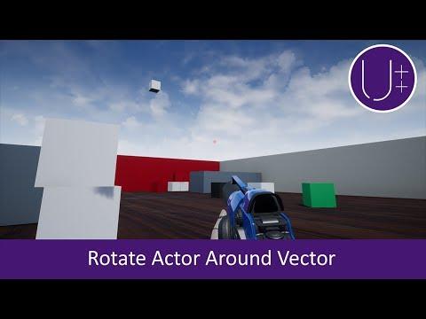Ue4 Rotate Vector