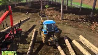 Farming Simulator 2015 (Logging with Bevan)