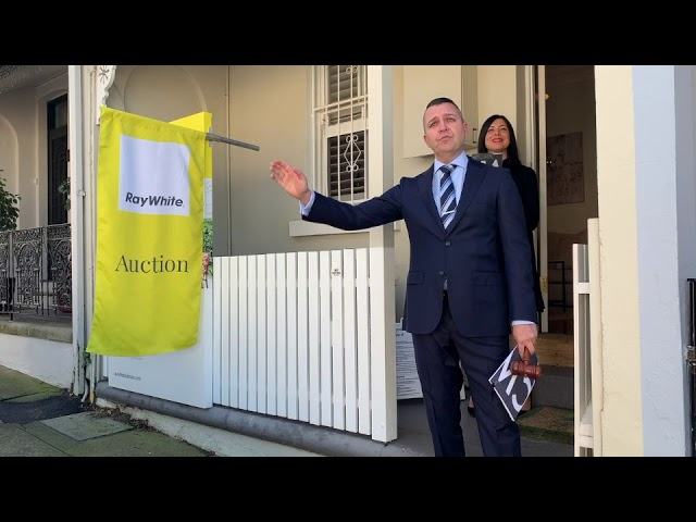 Lilyfield auction in Sydney sold under the hammer