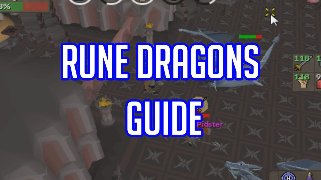 OSRS RUNE DRAGONS GUIDE/LOCATION/GEAR/STRATEGY