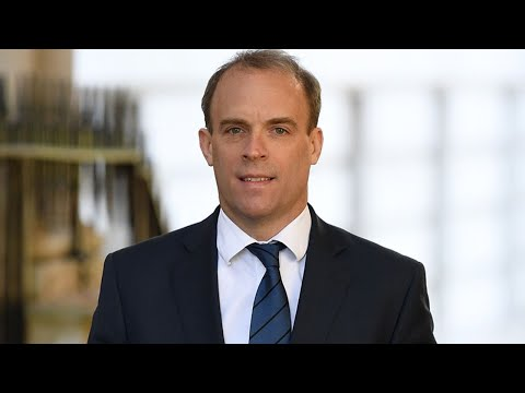 Watch Again: Dominic Raab Holds Daily Coronavirus Briefing From Downing Street