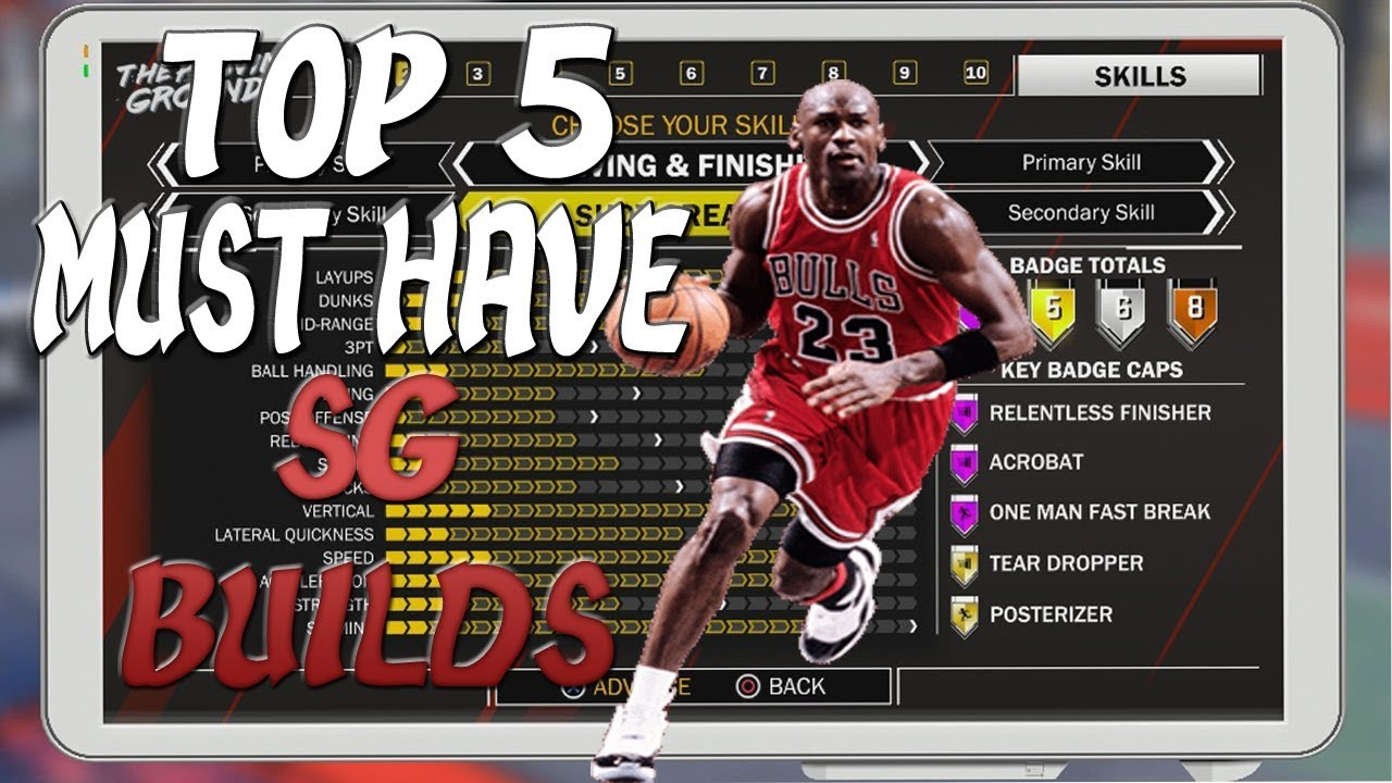 906c4935e95 NBA 2K18 - Top 5 Must Have Shooting Guard Builds - YouTube